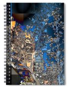 Spring Blossoms In The City - New York Spiral Notebook