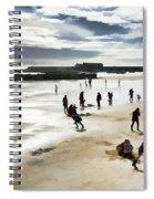 Spring-break At The Seaside Spiral Notebook