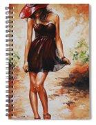Spring Breeze 04 Spiral Notebook