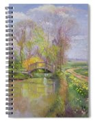Spring Bridge Spiral Notebook