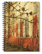 Spring Buds And Urban Decay 3 Spiral Notebook