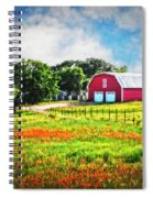 Spring Charm In The Hill Country Spiral Notebook
