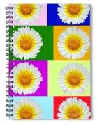 Spring Collage Spiral Notebook