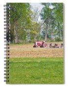 Spring Discing Spiral Notebook
