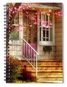 Spring - Door - Dogwood  Spiral Notebook