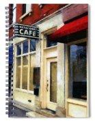 Spring Evening In Amherst Spiral Notebook