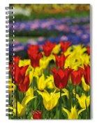 Spring Flowers 4 Spiral Notebook
