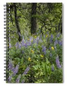 Spring Flowers In The Columbia Gorge Spiral Notebook