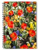Spring Flowers No. 2 Spiral Notebook