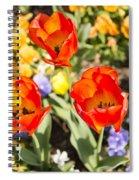 Spring Flowers No. 3 Spiral Notebook