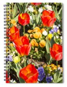 Spring Flowers No. 5 Spiral Notebook