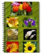 Spring Flowers Spiral Notebook