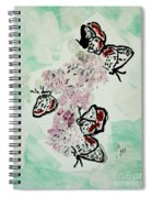 Spring Flutter Spiral Notebook
