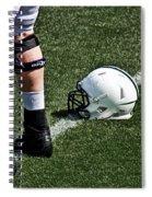 Spring Football Spiral Notebook
