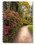 Spring Footpath Spiral Notebook