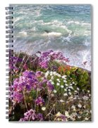 Spring Greets Waves Spiral Notebook
