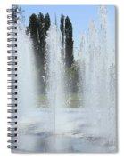 Spring H20 Sprays Spiral Notebook