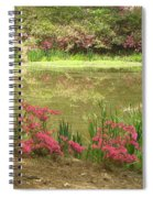 Spring Impression Spiral Notebook