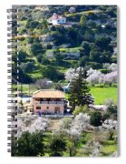 Spring In A Village  Spiral Notebook