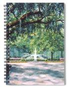 Spring In Forsythe Park Spiral Notebook