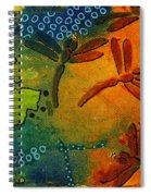 Spring In Full Effect Spiral Notebook