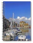 Spring In Honfleur Spiral Notebook