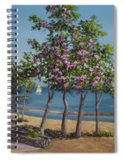 Spring In Kings Beach Lake Tahoe Spiral Notebook