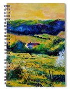 Spring In Matagne  Spiral Notebook