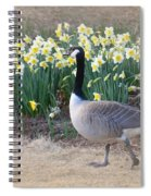 Spring In My Strut Spiral Notebook