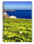 Spring In Pacific Grove Ca Spiral Notebook
