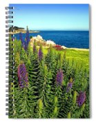 Spring In Pacific Grove Ca Two Spiral Notebook