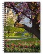 Spring In Paris Spiral Notebook