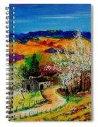 spring in Sechery Spiral Notebook