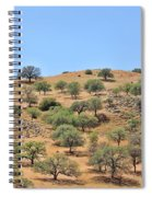 Spring In The California Hills  6950 Spiral Notebook