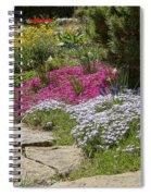 Spring In The Garden Dsc03678 Spiral Notebook