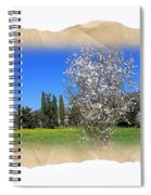 Spring In The Paper Spiral Notebook