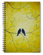 Spring Is A Time Of Love Spiral Notebook