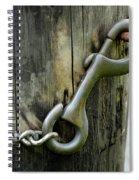 Spring Loaded Spiral Notebook