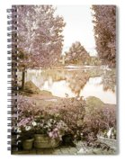 Spring Magical Fairyland Lake Spiral Notebook