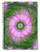 Spring Mandala For Winter Day Spiral Notebook