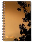 Spring Maple Silhouette Spiral Notebook