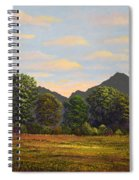Spring Meadow At Sutter Buttes Spiral Notebook