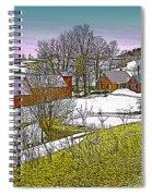 Spring Melt At Jenne Farm Spiral Notebook