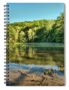 Spring Mill Lake Spiral Notebook