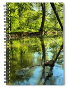 Spring Mill Reflections Spiral Notebook