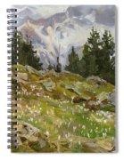 Spring On A Northern Slope Spiral Notebook