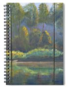 Spring On The Coosa  Spiral Notebook