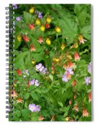 Spring On The Forest Floor Spiral Notebook