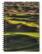 Spring On The Palouse Spiral Notebook