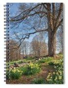 Spring Path Spiral Notebook